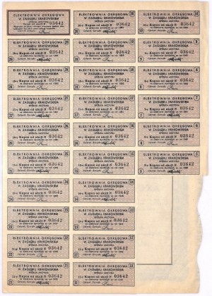 Elektrownia Okręgowa w Zagłębiu Krakowskim S.A., 100 złotych 1935