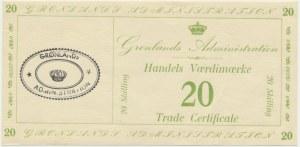 Grenlandia, 20 skilling (1942)