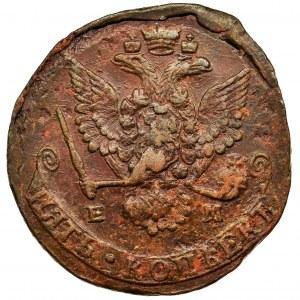 Rosja, Katarzyna II, 5 Kopiejek Jekaterinburg 1779 EM