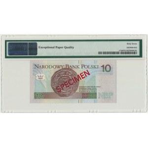 10 złotych 1994 WZÓR - AA 0000000 - Nr. 1745 - PMG 67 EPQ