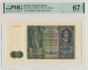 50 złotych 1941 - A - PMG 67 EPQ