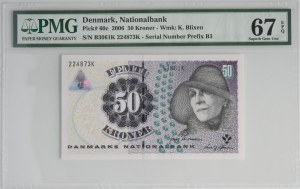 Denmark, 50 kroner 2006 - PMG 67 EPQ
