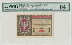1 marka 1916 Jenerał - A - PMG 64