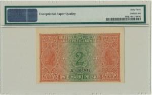 2 marki 1916 Jenerał - A - PMG 63 EPQ