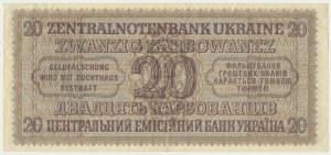 Ukraine, 20 karbovanets 1942