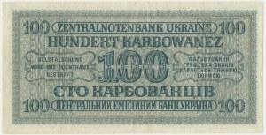 Ukraine, 100 karbovanets 1942