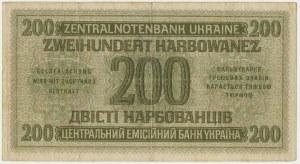 Ukraine, 200 karbovanets 1942