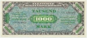 Germany, allied occupation money, 1.000 mark 1944
