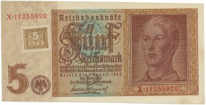 Niemcy, Okupacja Sowiecka, 5 marek (1948)