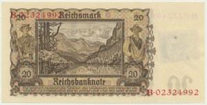 Niemcy, Okupacja Sowiecka, 20 marek (1948)
