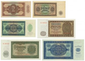 Germany (DDR), lot 2-100 mark 1948 (6pcs.)