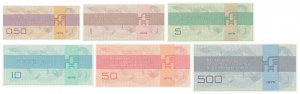 Germany (DDR), Foreign Exchange Certificates 1979 (6pcs.)