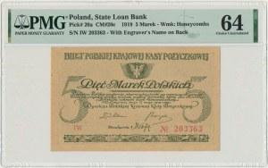 5 marek 1919 - IW - PMG 64