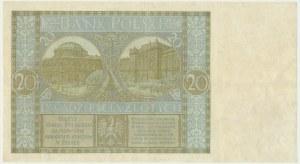 20 złotych 1929 - Ser.DT - RZADKOŚĆ