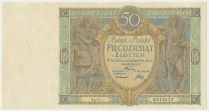 50 złotych 1925 - Ser. X -
