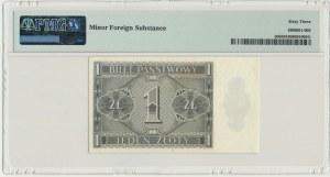1 złoty 1938 - IH - PMG 63