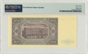 20 złotych 1948 - KE - PMG 67 EPQ