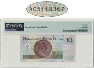 10 złotych 1994 - AC - PMG 68 EPQ - rzadka seria