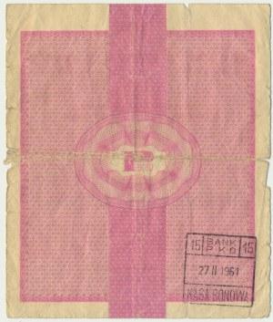 Pewex, 50 dolarów 1960 - Bi - bez klauzuli - RZADKI