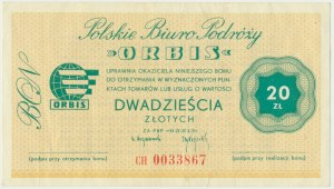 ORBIS, 20 złotych - CH -