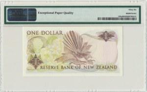 New Zealand, 1 dollar (1981-85) - PMG 66 EPQ - sign. Hardie