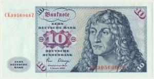 Germany, 10 mark 1980 - CK -