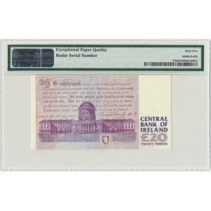 Irlandia, 20 funtów 1995-99 - PMG 65 EPQ