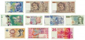 Mixed lot European banknotes (10 pieces)