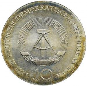 Niemcy, NRD, 10 Marek Berlin 1971