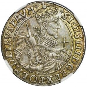 Zygmunt III Waza, Ort Bydgoszcz 1622 - NGC MS62