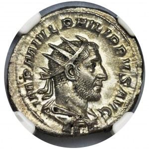 Cesarstwo Rzymskie, Filip I Arab, Antoninian - NGC MS