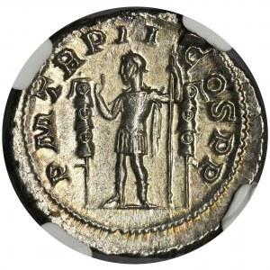 Roman Imperial, Maximinus I Thrax, Denarius - NGC MS
