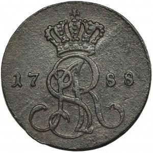 Poniatowski, Grosz Warszawa 1788 EB