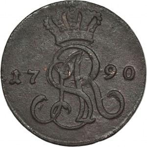 Poniatowski, Grosz Warszawa 1790 EB