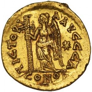 Cesarstwo Rzymskie, Leon I, Solidus