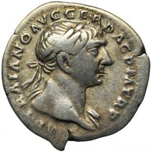 Cesarstwo Rzymskie, Trajan, Denar - RZADSZY