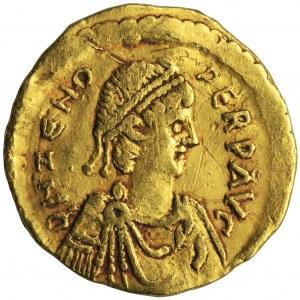 Cesarstwo Rzymskie, Zenon, Tremissis