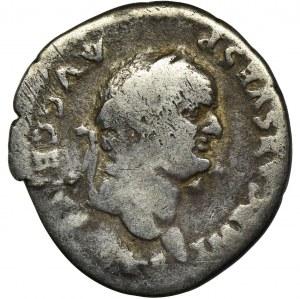 Cesarstwo Rzymskie, Wespazjan, Denar