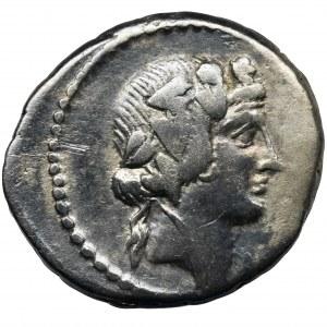 Roman Republic, C. Vibius Varus, Denarius
