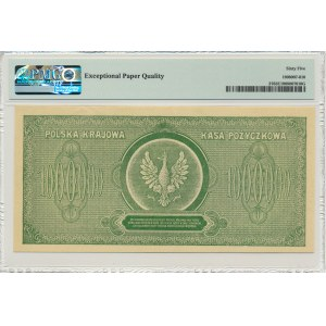 1 milion marek 1923 - E - PMG 65 EPQ - PIĘKNY