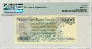 5.000 złotych 1982 - A - PMG 66 EPQ