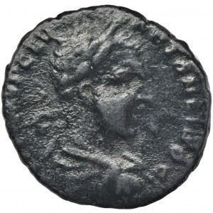 Rzym Prowincjonalny, Tracja, Hadrianopolis, Karakalla, Brąz - BARDZO RZADKI