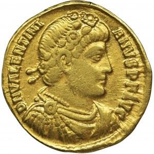 Cesarstwo Rzymskie, Walentynian I, Solidus