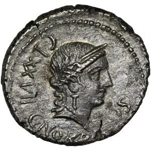 Roman Republic, C. Norbanus, Denarius - RARE