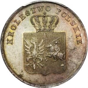 Powstanie Listopadowe, 5 złotych Warszawa 1831 KG - PCGS MS64
