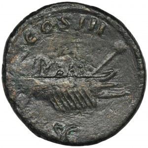 Cesarstwo Rzymskie, Hadrian, As