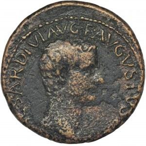 Cesarstwo Rzymskie, Tyberiusz, As - RZADKI