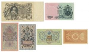 Russia, lot 1 - 100 rubles 1898-1910 (6pcs.)