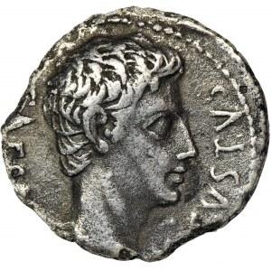 Cesarstwo Rzymskie, Oktawian August, Denar