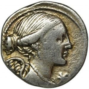 Roman Republic, L. Valerius Flaccus Denarius